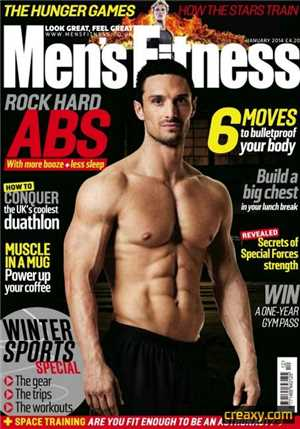 Download Mens Fitness - January 2014 UK