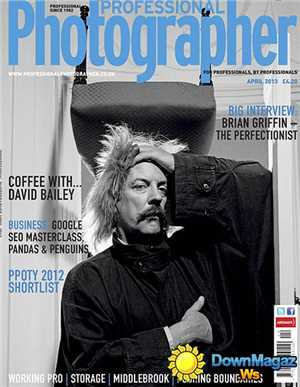 Download Professional Photographer Magazine - Coffee With David Bailey April 2013