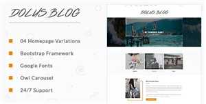 Download DesignOptimal - ThemeForest - Dolus v1 0 - Blog HTML5 Template - 18667640