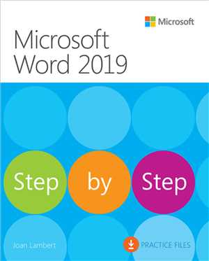Download Microsoft Word 2019 Step by Step