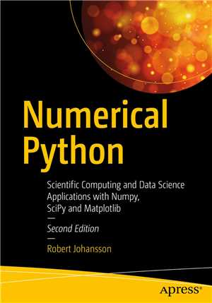 Download Numerical Python: Scientific Computing and Data Science Applications with Numpy, SciPy and Matplotlib, 2nd edition