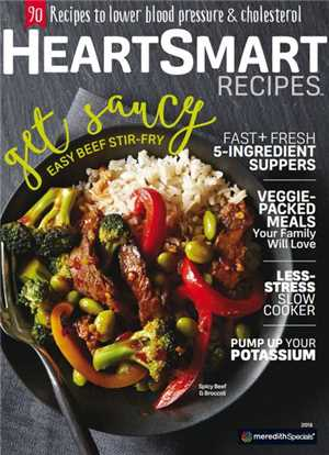 Download Heart-Smart Recipes 2016 True PDF