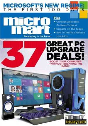 Download Micro Mart - 37 Great Pc Upgrad Deals + Bosst Your Computer Without Breaking The Bank Issue 1316, 19-25 June 2014