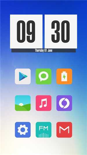 Download Miu - MIUI 6 Style Icon Pack v81 0 APK