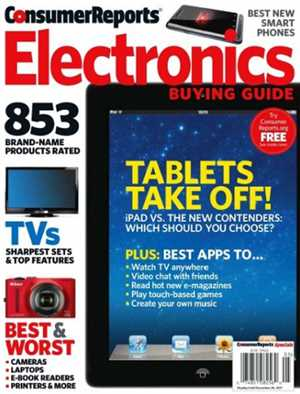 Download Consumer Reports Electronics Buying Guide 2011