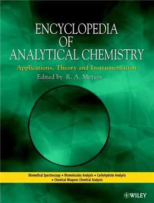 Download Encyclopedia of Analytical Chemistry - theFreak R.A.Meyers