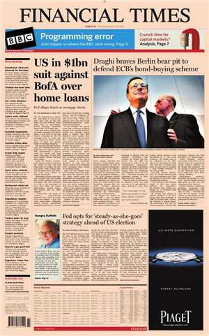 Download Financial Times Europe Newspaper - Oct 12 2012