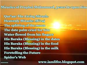 Download The Miracles of the Prophet Muhammad Peace Be Upon Him
