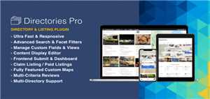 Download Directories Pro 1 2 37 - WordPress Plugin +AddOns