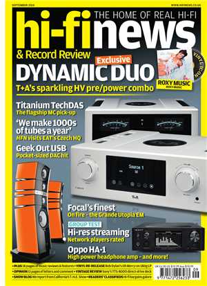 Download Hi-Fi News - September 2014 UK