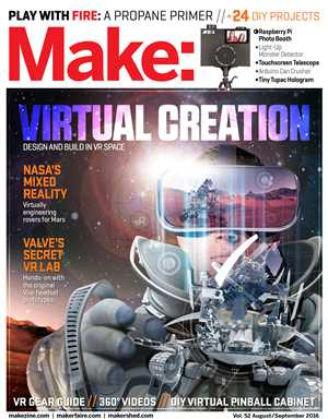 Download Make - Volume 52 - Virtual Creation - Design and Build in VR Space