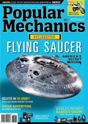 Download Popular Mechanics - DeCalssfied Flying Saucer The American Secret March 2013 South Africa